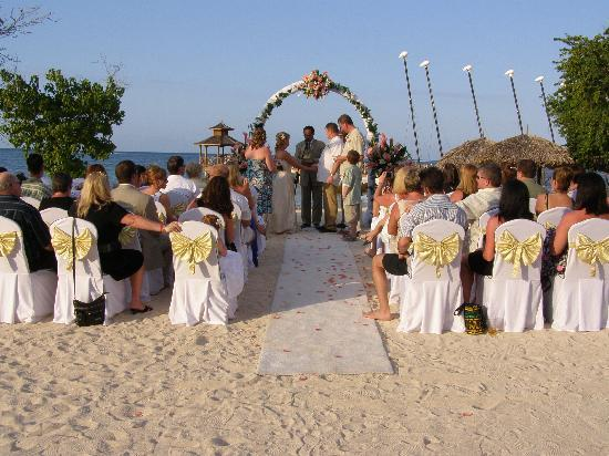 Iberostar Rose Hall Beach Wedding On The
