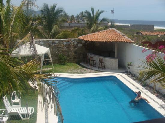 Posada Zaira del Mar : Vista desde la habitacion del hotel