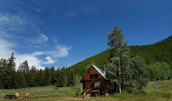 Pioneer Guest Cabins: Doubletop Cabin
