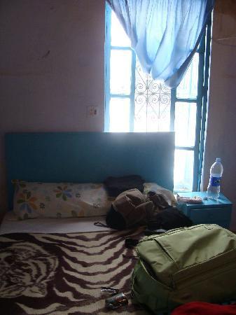 Hotel Salam: habitación 100 dirhams