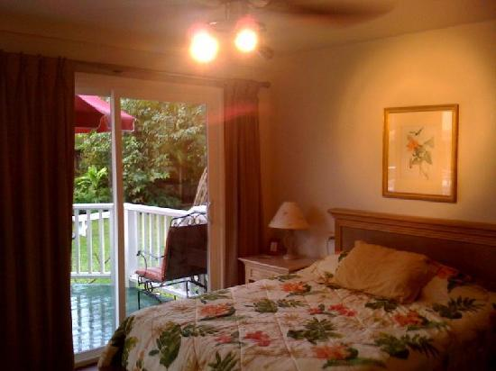 Hanalei Inn: Studio with Kitchen and Private Deck
