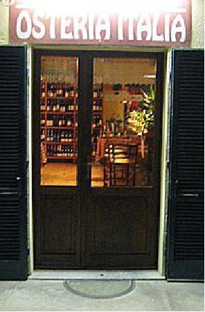Osteria Italia : The entrance