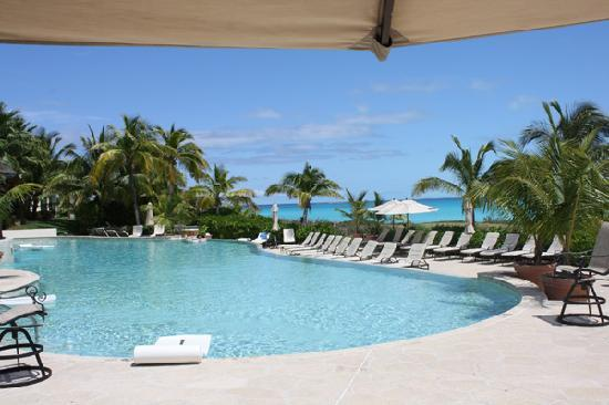 Grand Isle Resort & Spa : pool with Emerald Bay in the background