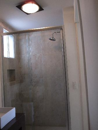 Condesa Haus: shower
