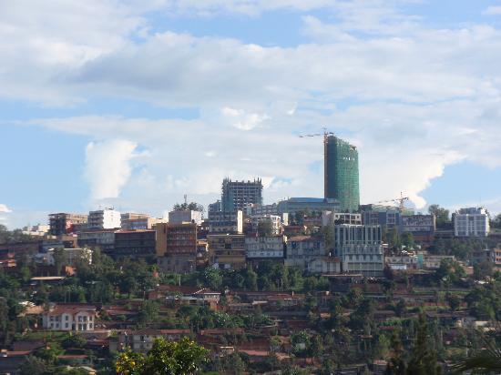 Kigali, Rwanda: 街の中心部