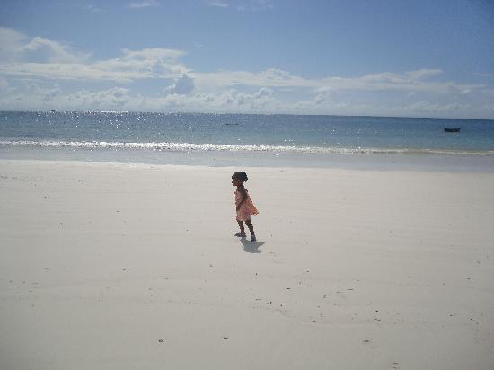 Simba + Oryx Beach Cottages: The Beach, clean and serene