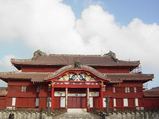 Shurijo Castle: 首里城正殿