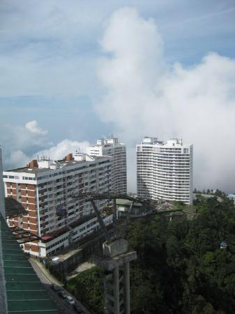 Genting Highlands, Malasia: View 1 from the room in the morning