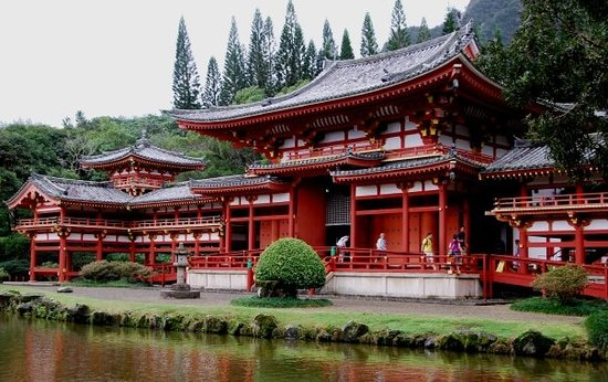Oahu, Hawái: Buddah Temple