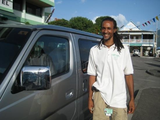Dominica: Levi Baron... an amazing tour Guide