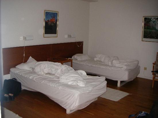 First Hotel Linne: Gamla sängar