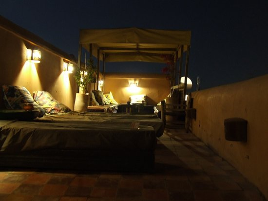 Riad So Cheap So Chic: atmosfera intrigante
