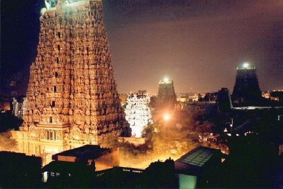 Madurai, Índia: Thoonga nagaram