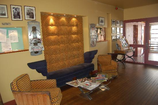 The Aviator Hotel: reception area