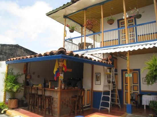 Ciudad de Segorbe Hostel Salento: Courtyard
