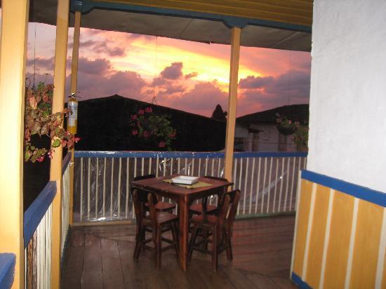 Ciudad de Segorbe Hostel Salento: Sun set