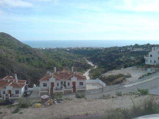 Balcon De Frigiliana: one side of the view