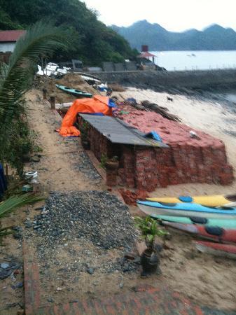 Ocean Beach Resort: construction site