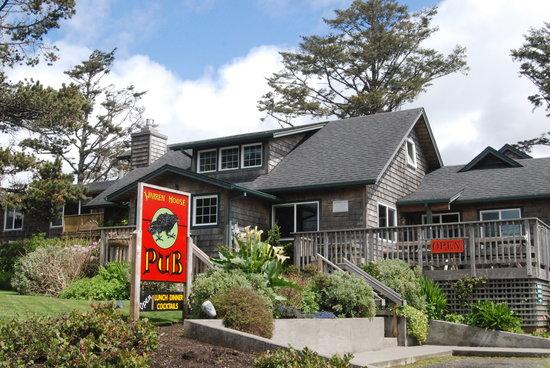 Warren House Pub: exterior