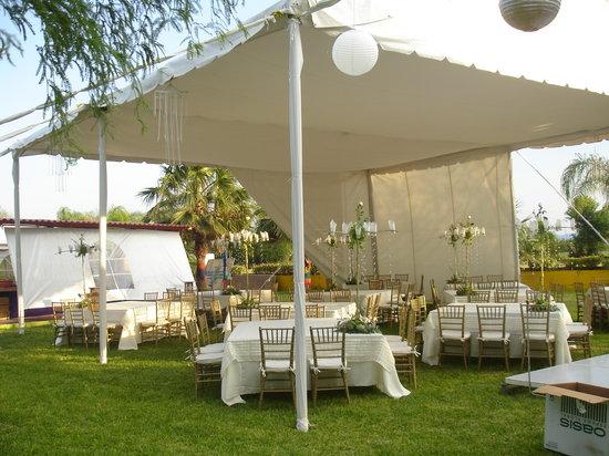 La Malanca Hotel & Spa: jardin para eventos