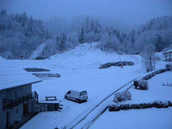 Hotel Slalom: View from the balcony