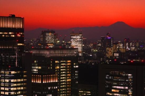 Mount Fuji: Mt. Fuji at Sunset