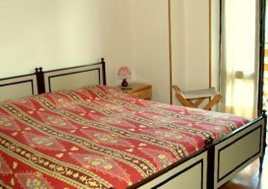 Hotel Pineta camera da letto
