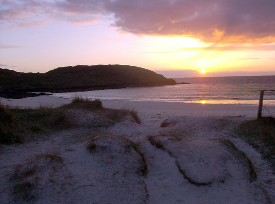 Lairg, UK: Fabulous Sunsets at Achmelvich