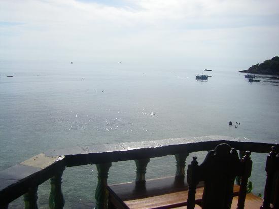 Taatoh Resort & Freedom Beach Resort: de la terasse