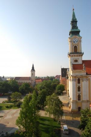 Kecskemet, Hungary: Storkyrkan i Kecskemét