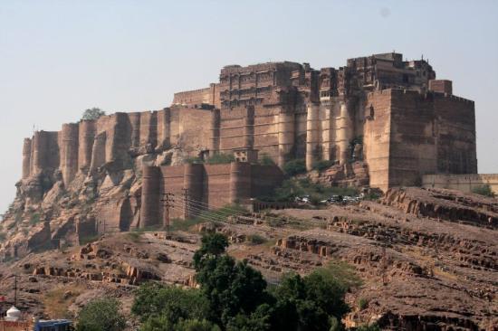 Day 41 Jodhpur 11 Mehrangarh From Jaswant Thada