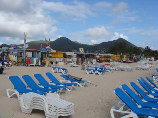 Marigot St Martin St Maarten Beach Bars Orient Beach