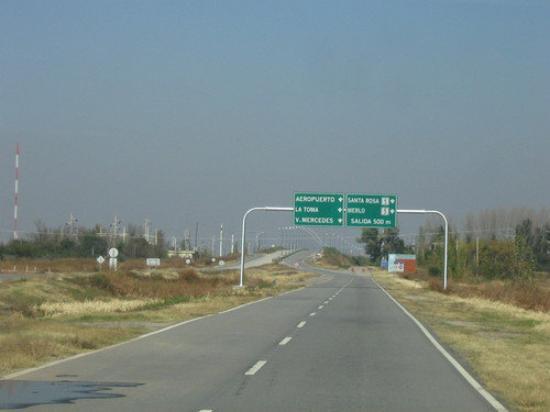 Córdoba, Argentine : Ruta a Villa Dolores desde San luis ARG.