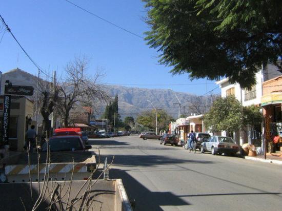 Calle céntrica de Merlo 2008 ARG.