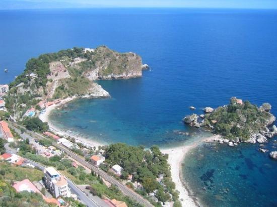 La baie de Taormina, somptueux!!!