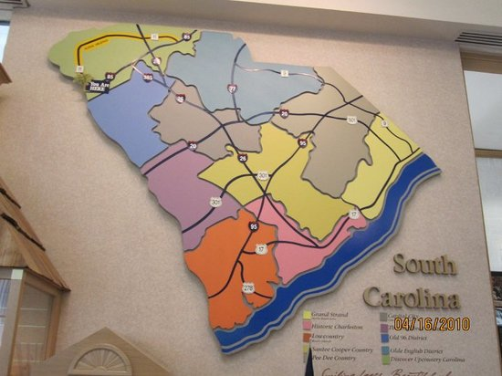 Greenville, Caroline du Sud : Finally made it to South Carolina