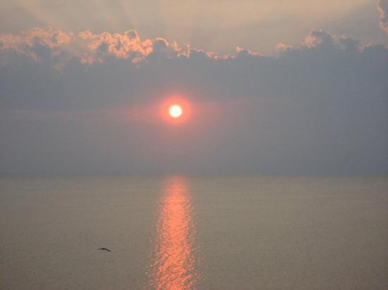 Sunset over Pamlico Sound, Rodanthe, NC