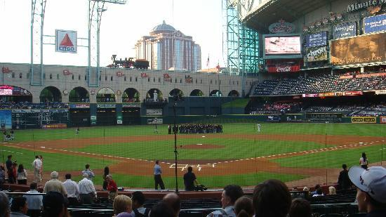 Inside Minute Maid Park Picture Of Club Quarters Hotel In