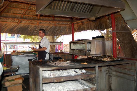 Grill Hut And Pizza Man Picture Of Brisas Del Caribe Hotel