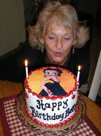 Sprinkles Custom Cakes Grandmas Birthday Cake