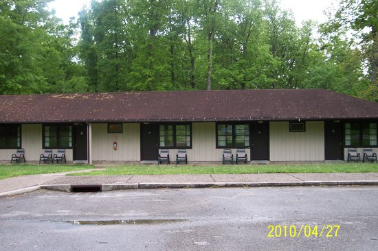 Mammoth Cave Hotel: Other motel section