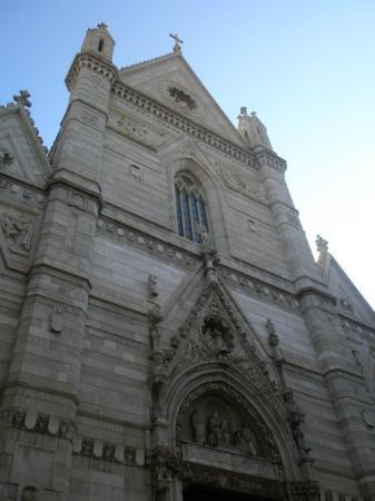 Gesu Nuovo Church: the front of the duomo