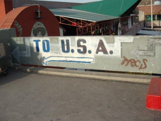 Tijuana, Mexico: headed back to the US