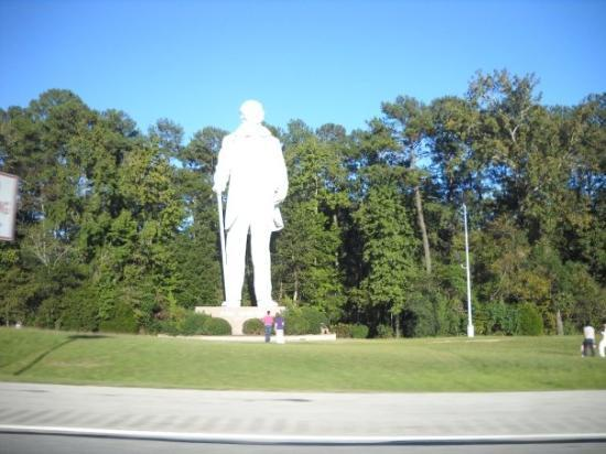 Sam Houston Statue: Sam Statue - near Huntsville