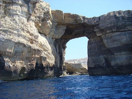 The Zerka Window, Dwejra, Gozo