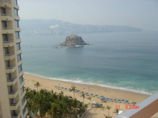 View from hotel in Acapulco