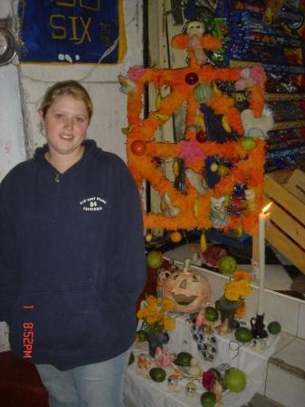 Patzcuaro, Mexico: Me, day of the dead ceremony at Isla Janitzio