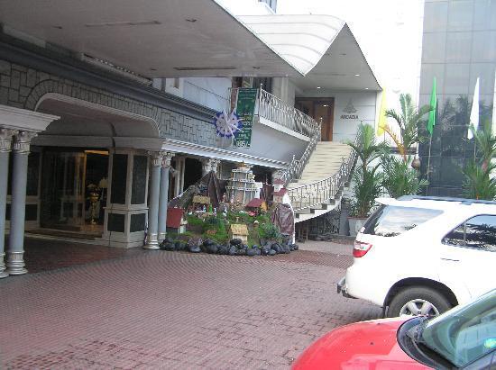 Arcadia Hotel: Christmas decoration