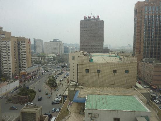 サイテック ホテル(北京賽特飯店), 窓から