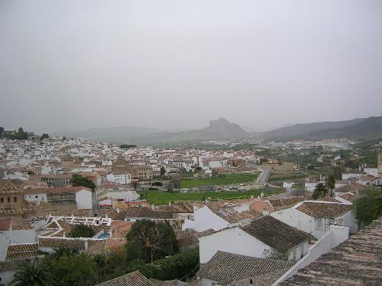 Hotel Coso Viejo: The climb to the top offers a wide view of the city and the landscape